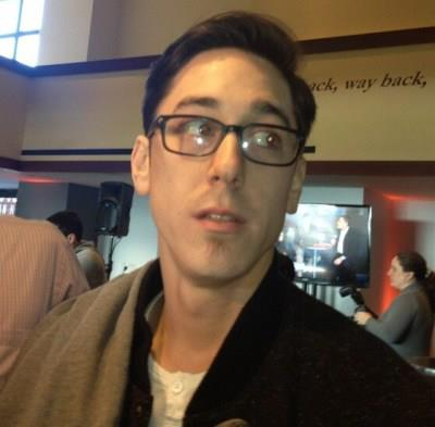 Image of Tim Lincecum posted on KNBR's Facebook page